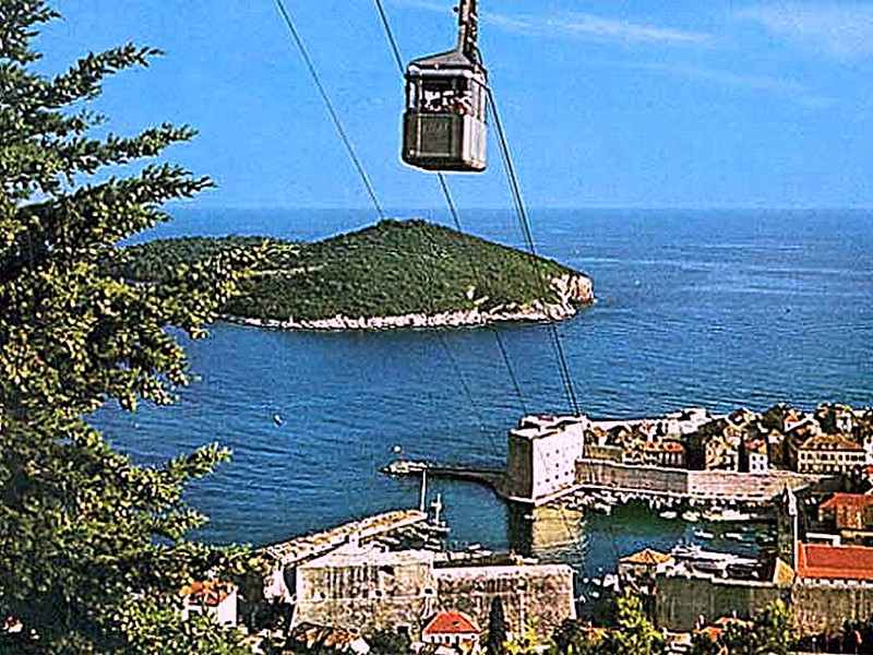 Dubrovnik Zicara - Cable Car (2/6)