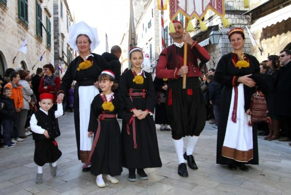 Sveti Vlaho Procession