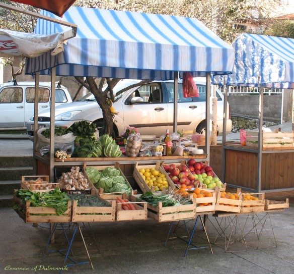 Our very small green market
