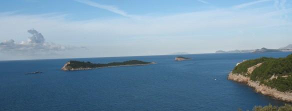 Bobara and Mrkan islands