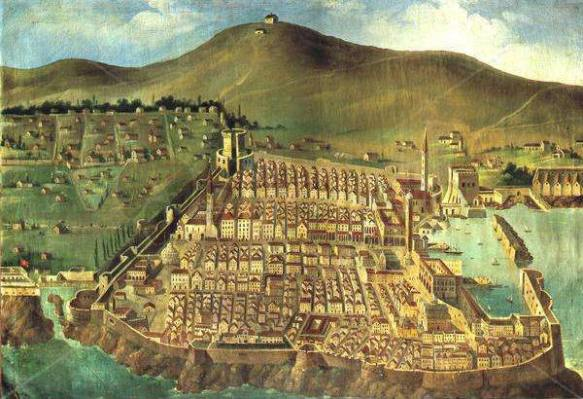 Dubrovnik prior to 1667 earthquake