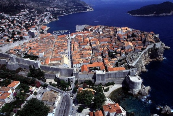 Dubrovnik dif view