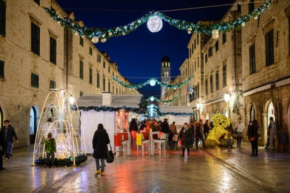 Christmas fair on our Stradun